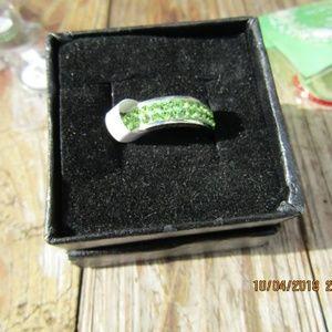 Jewelry - New green Tungsten ring sz 10.5